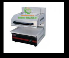 Bếp nướng điều khiển núm vặn, chất liệu inox bền bỉ