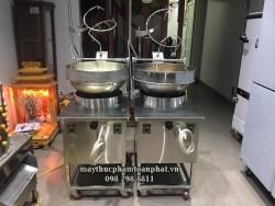 Máy rang cơm hàng Việt Nam