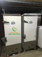 Tủ nấu cơm công nghiệp 12 khay sử dụng điện