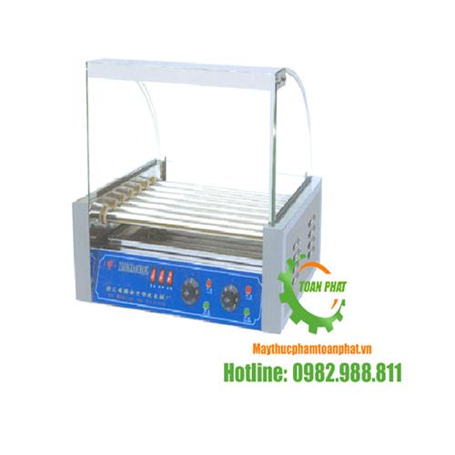 Máy nướng xúc xích 7 thanh nhiệt quay