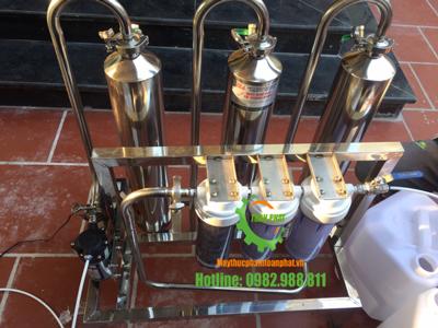 Máy lọc độc tố trong rượu 50L